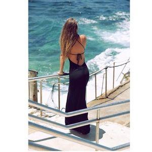 Flynn Skye Saturdaze Maxi Dress in Black